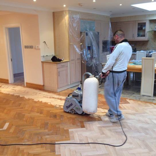 floor restoration London