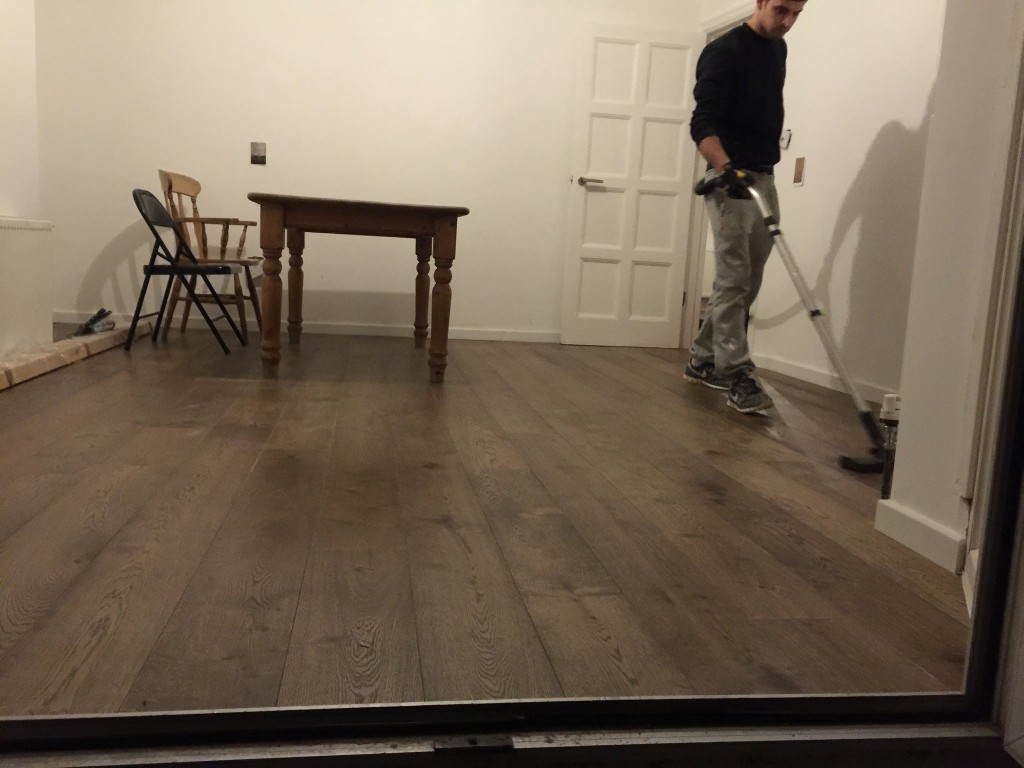 Wood flooring Hendon
